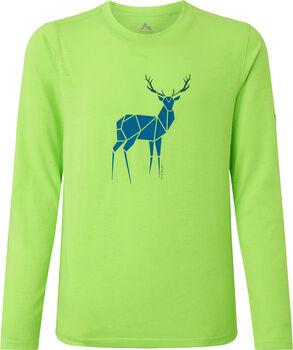 McKINLEY Borra T-Shirts L/S Garçons Vert