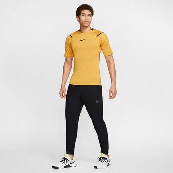 Nike PRO Aero-Adapt T-Shirt Herren Schwarz