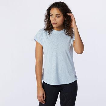 New Balance Q Speed T-Shirt Damen Grau
