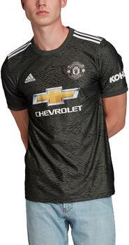 adidas Manchester United Away Fussballtrikot Herren Grün