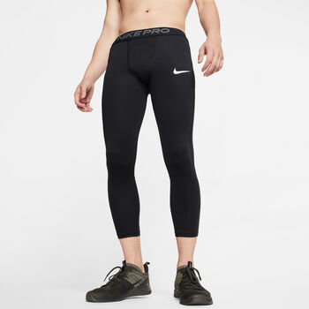 Nike Pro 3/4 Tights Hommes Noir