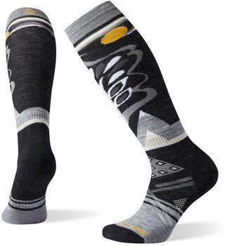 Smartwool PhD Ski Medium Pattern Socken Damen Schwarz