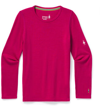 Smartwool Mid 250 Crew Baselayer Rot