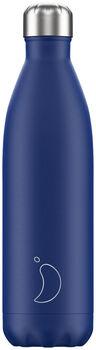Chilly's Matte Trinkflasche Blau