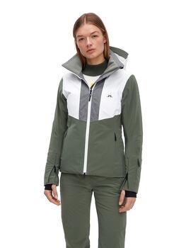 J.Lindeberg Gab veste de ski Femmes Vert