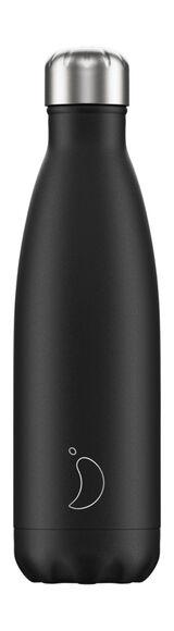 Monochrome Trinkflasche