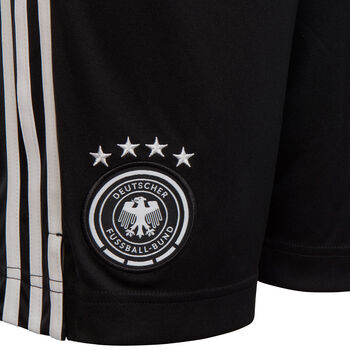 adidas DFB Heimshorts Jungs Schwarz