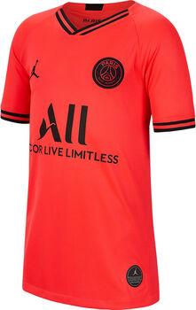 Nike PSG Breathe Fussballtrikot Jungs Rot