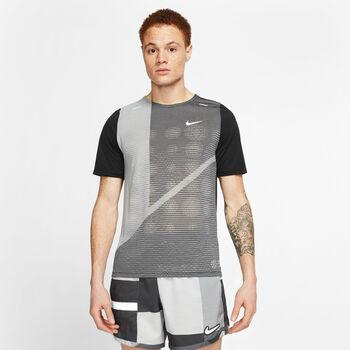 Nike Rise 365 Future Laufshirt Herren Schwarz