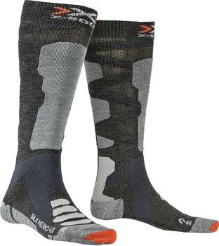 X-Socks SKI SILK MERINO 4.0 chaussettes de ski Hommes Gris