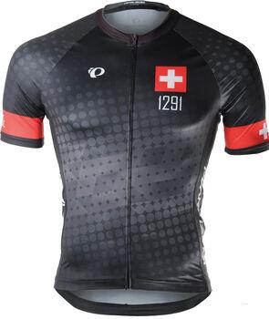PEARL iZUMi ELITE Interval LTD Jersey Suisse Edition 2.0 Biketrikot Herren Schwarz