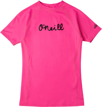 O'Neill Lycra Skin Shirt kurzärmelig Mädchen Rot