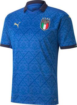 Puma Italia Home Replica Fussballtrikot Herren Blau