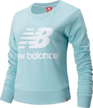 New Balance Essentials Crew Pullover Femmes Bleu