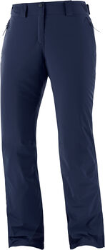 Salomon THE BRILLIANT pantalon de ski Femmes Bleu