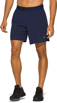 ASICS Road 2-N-1 Short running Hommes Bleu