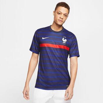 Nike Frankreich 2020 Stadium Home Maillot de football Hommes Bleu
