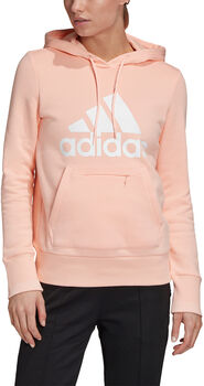 adidas Must Haves Badge of Sport Pullover Hoody Damen Pink