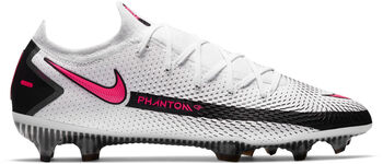 Nike Phantom GT Elite Dynamic Fit chaussure de football Hommes Blanc