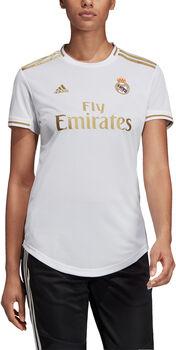 adidas Real Madrid 19/20 Home Fussballtrikot Damen Weiss