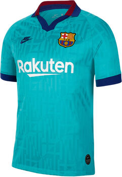Nike FC Barcelona Breathe Stadium Thin Fussballtrikot Türkis