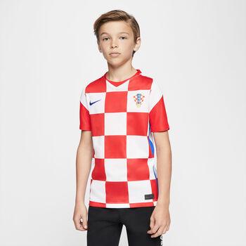 Nike Kroatien 2020 Stadium Home Fussballtrikot Weiss