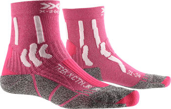 X-Socks Trek X Cotton Wandersocken Pink
