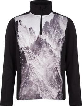McKINLEY Daniston Rollkragen Skishirt langarm Schwarz