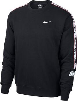 Nike Sportswear Repeat Crew Sweatshirt Herren Schwarz