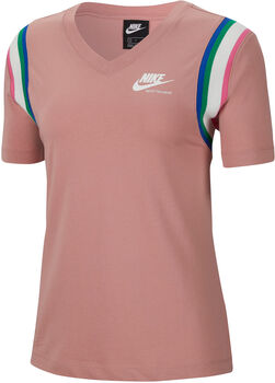 Nike Sportswear Heritage t-shirt Femmes Rouge