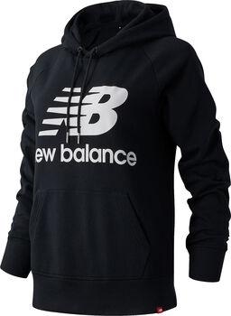 New Balance Essentials Pullover Hoody Damen Schwarz
