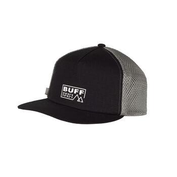 Buff Solid Casquette Trucker Noir