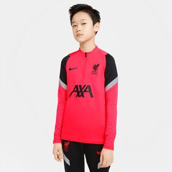 Nike FC Liverpool Strike Fussballshirt langarm Jungs Rot