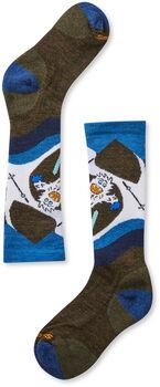 Smartwool Wintersport Yo Yetti Socken Grün