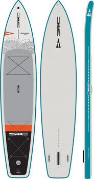 SIC Maui Okeanos Air-Glide 12.6 x 31 Stand Up Paddle Set Grau