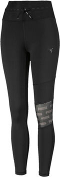 Puma Feel It Mesh 7/8 Tights Damen Schwarz