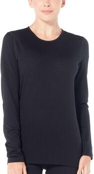 Icebreaker 200 Oasis chemise fonctionnelle à manches longues Femmes Noir