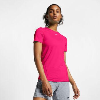 Nike PRO Mesh t-shirt Femmes Rose