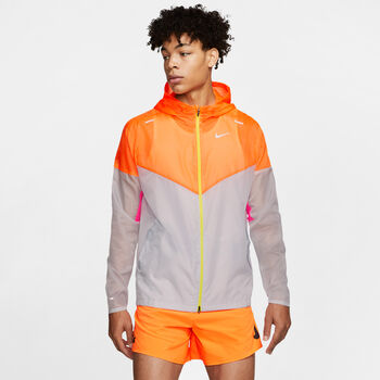Nike WINDRUNNER Laufjacke Herren Orange