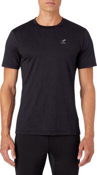 ENERGETICS Antse II Shirt de running à manches courtes Hommes Noir