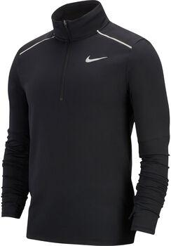 Nike Element 3.0 1/2 Zip Laufshirt langarm Herren Schwarz