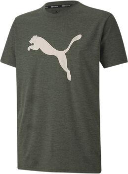 Puma Heather Cat Trainingsshirt Herren Grün