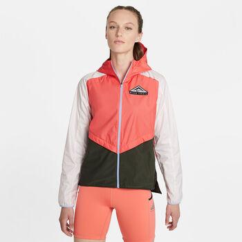 Nike Shield Laufjacke Damen Orange