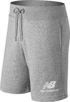 New Balance Essentials Stacked Logo Shorts Herren Grau