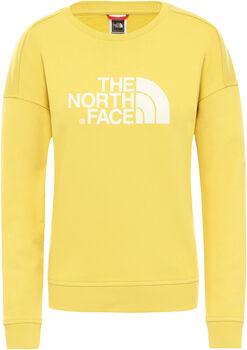 The North Face DREW PEAK CREW-EU Pullover Damen Gelb