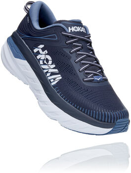Hoka One One Bondi 7 Glide Chaussure de running Hommes Bleu
