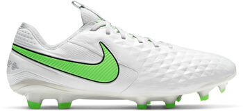 Nike LEGEND 8 ELITE FG chaussure de football  Gris