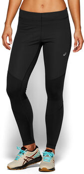 Asics WINDBLOCK Tights Damen Schwarz