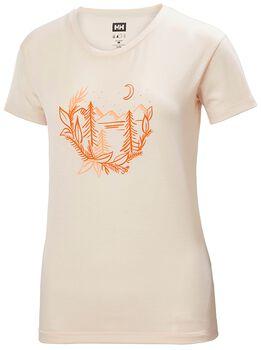 Helly Hansen Skog Graphic T-Shirt Damen Pink