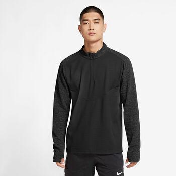 Nike Pinnacle haut de running à manches longues Hommes Noir